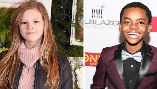 Peyton Kennedy e Jahi Winston estarão no elenco da nova produção. Foto: Getty Images/The Hollywood Reporter/Reprodução