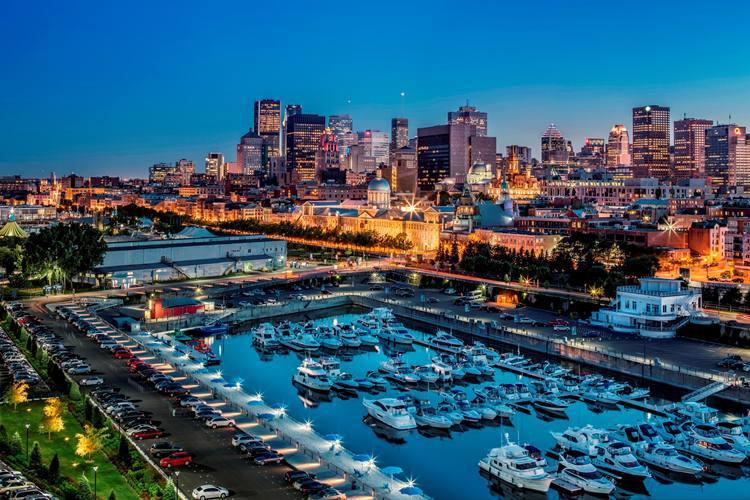 Montreal, no lado francês do Canadá, é uma cidade de contrastes entre a arquitetura Vitoriana e o moderno (foto: Turismo Canadá/Divulgação)