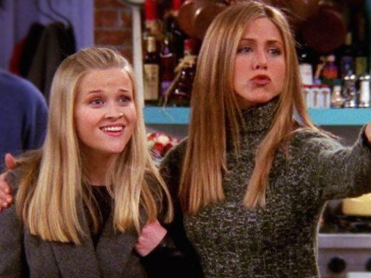 Atrizes interpretarem duas irmãs no seriado de sucesso Friends. Foto: NBC/Arquivo