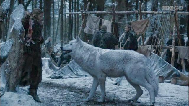 Na primeira temporada, cada um dos filhos dos Stark recebeu um lobo de presente. Foto: HBO/Reprodução