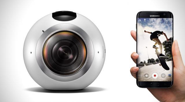 Versatilidade dá o tom a câmera 360 da Samsung - Foto: Divulgação/Samsung