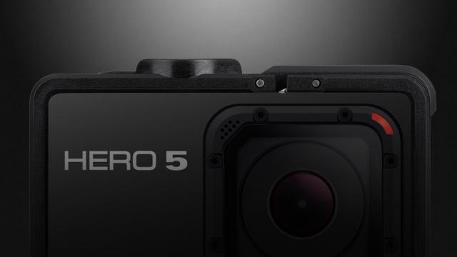 Para os papais aventureiros, GoPro Hero 5 é uma boa opção, com gravação em 4K e display touchscreen integrado - Foto: Divulgação/GoPro