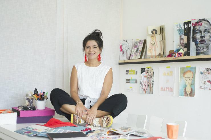 Renata Abranchs prevê o uso caseiro da tecnologia para que as pessoas produzam sua própria moda. Foto: Tiago Petrik/Divulgação