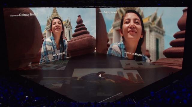 Live focus foi uma das novidades apresentadas pela empresa sul-coreana - Foto: Divulgação/Samsung