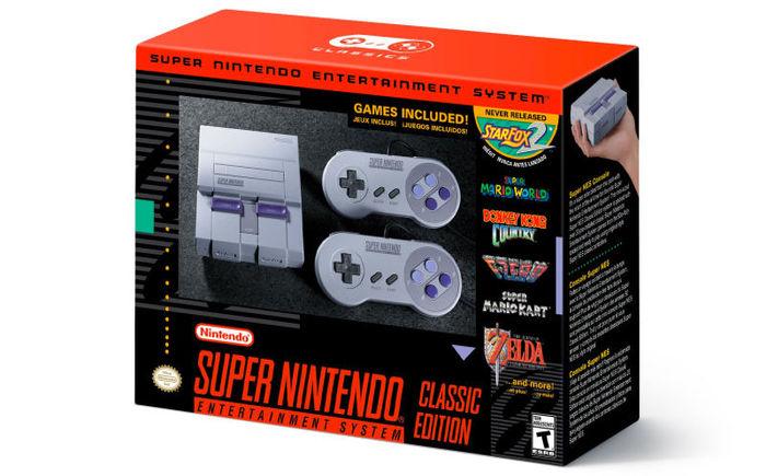 Snes Classic Edition - Foto: Divulgação/Nintendo