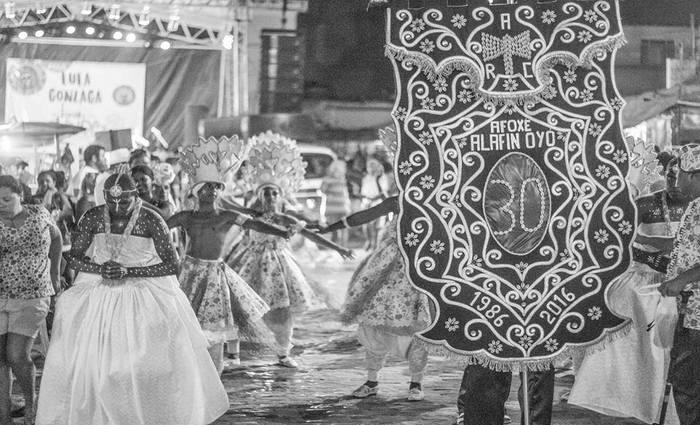 Cortejo em homenagem aos 31 anos da Entidade Cultural. Foto: Divulgação