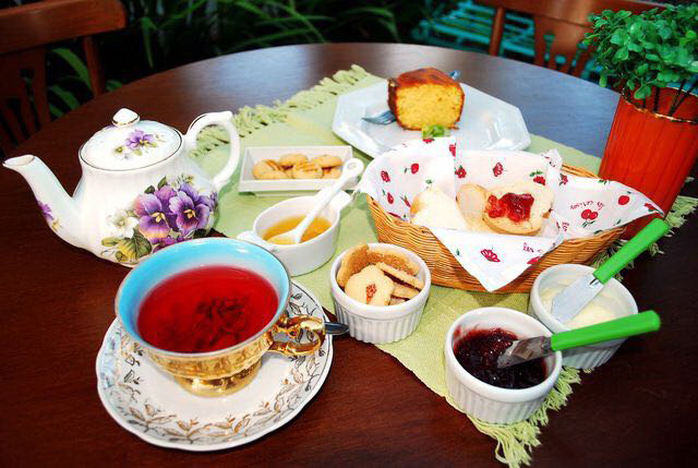 Chá com Chita une loja de decoração e ambiente para o famoso chá das cinco. Foto: Divulgação