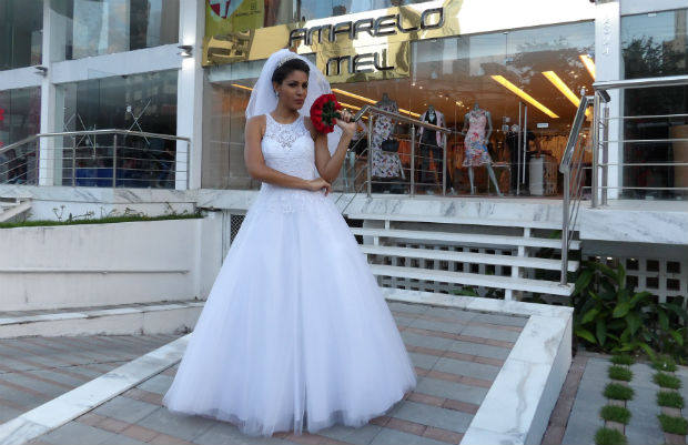 Amarelo Mel passa a oferecer vestidos de noivas. Foto: Amarelo Mel/Divulgação