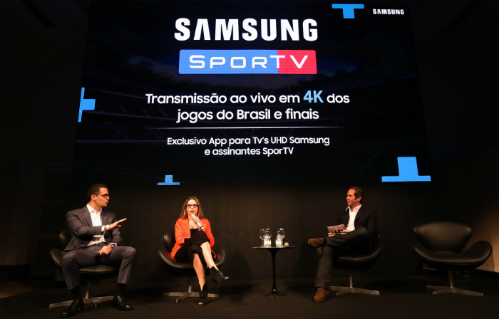 Novidade foi anunciada em um coquetel, no Rio de Janeiro, nesta semana. Foto: Samsung/Divulgação (Novidade foi anunciada em um coquetel, no Rio de Janeiro, nesta semana. Foto: Samsung/Divulgação)