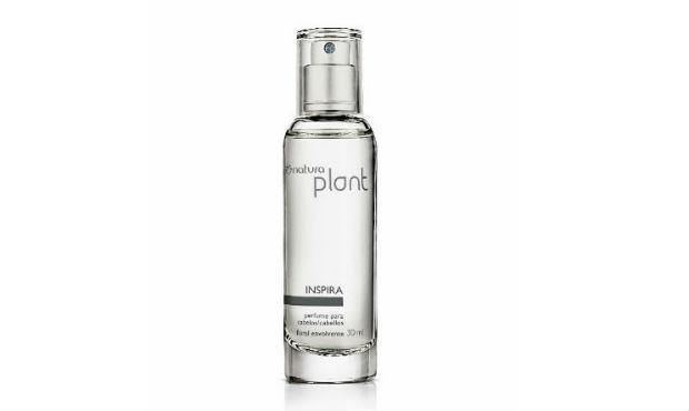 O preço sugerido para o perfume Inspira é de R$ 44,40. Foto: Natural/Divulgação