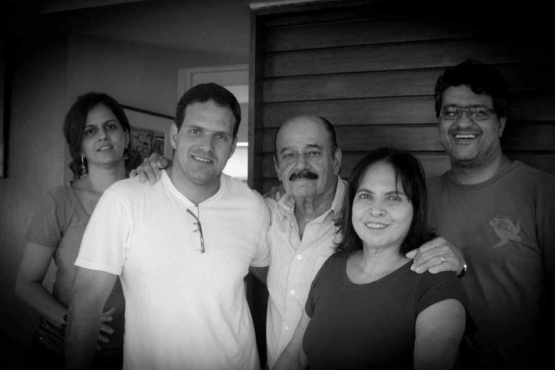Jayme Jemil Asfora deixou esposa e três filhos. O enterro acontece às 15h desta terça-feira (10), no Cemitério de Santo Amaro. Foto: Reprodução/Facebook