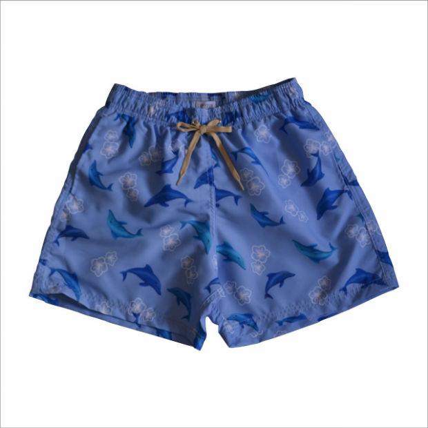 A marcca aposta em shorts com estampas exclusivas. Foto: Antilha/Divulgação