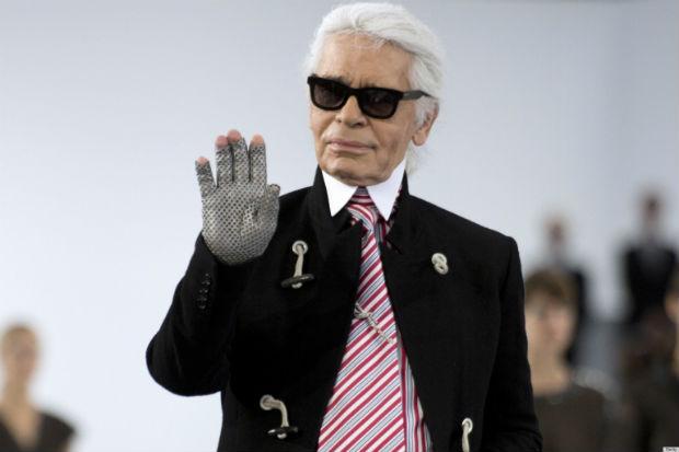 """""""Vou dizer algo horrível"""", afirmou o estilista alemão à emissora C8, antes de fazer a declaração. Foto: Reprodução/Internet"""