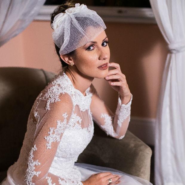 Durante o evento, haverá desfiles de vestidos de noivas, madrinhas e debutantes. Foto: Fenoivas/Divulgação
