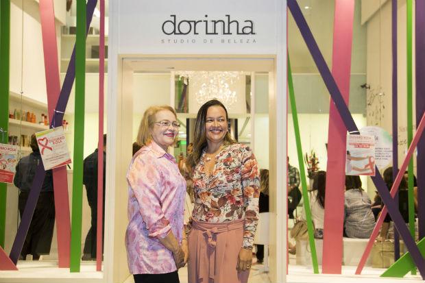 Dorinha e Flávia Torres recebem os convidados a partir das 17h, no salão do Riomar. Foto: Dorinha Studio de Beleza/Divulgação