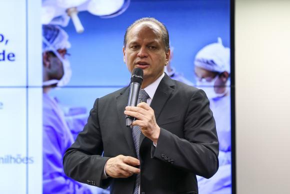 O ministro da Saúde, Ricardo Barros, participa de audiência pública na Câmara. Foto: Marcelo Camargo/Agência Brasil