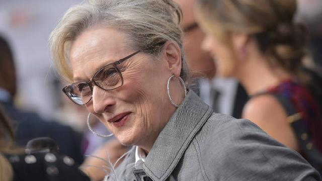 Meryl Streep foi indicada ao Globo de Ouro na categoria de Melhor Atriz em Filme de Drama por The Post e participará do protesto feminista. Foto: Mandel Ngan/AFP
