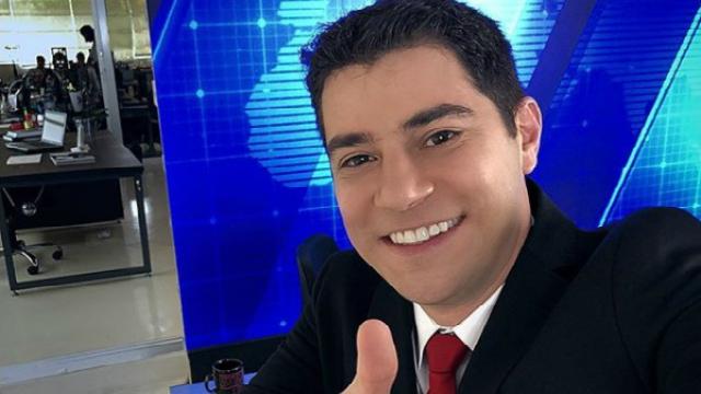 Evaristo trabalhou como âncora no Jornal Hoje até agosto deste ano. Foto: Instagram/Reprodução