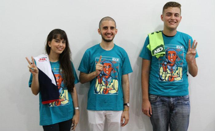 Os três concorriam para a vaga de medicina. Foto: Julio Jacobina/DP (Foto: Julio Jacobina/DP)