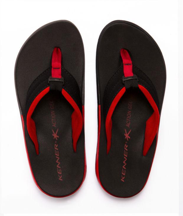 O calçado é ideal para ser usado antes e após a prática de esportes. Foto: Kenner/Divulgação
