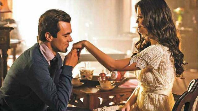 No papel de Vicente, Bruno Ferrari contracena com Vitória Strada na trama das 18h da Globo. Foto: Caiuã Franco/Globo