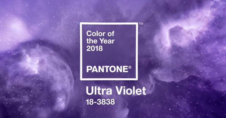 O Ultra Violet remete, segundo a Pantone, ao equilíbrio das coisas, ao misticismo e ao não conformismo. Foto: Pantone/Divulgação