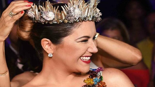 Maria Rita foi coroada Musa do Rio Samba e Carnaval pelo bamba Monarco. Foto: Instagram/Reprodução