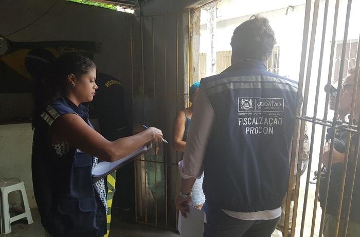 Operação foi deflagrada nesta quarta. Foto: Secom Jaboatão/Divulgação (Operação foi deflagrada nesta quarta. Foto: Secom Jaboatão/Divulgação)