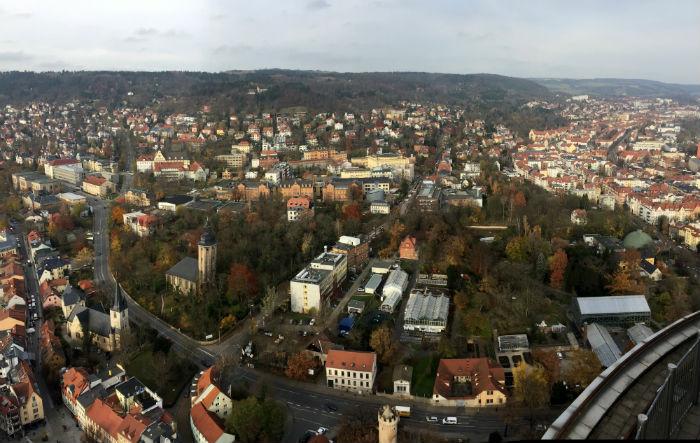 Jena é uma cidade universitária a 300 km de Berlim. Foto: Anamaria Nascimento/DP