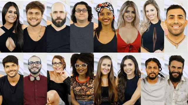 Ao todo, são 16 participantes de 16 estados brasileiros e da Síria. Não há pernambucanos no elenco. Foto: Gshow/Reprodução