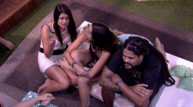 Ana Paula foi uma das participantes que apontou a família como um grupo de atores. Foto: Globo/Reprodução