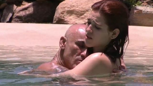 Comportamento do pai com a filha chocou público. Foto: Globo/Reprodução