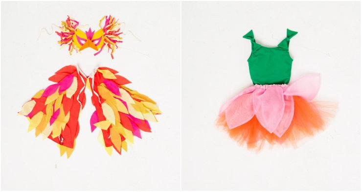 Fantasias para os pequenos foram inspiradas em elementos da natureza amazônica. Fotos: Fábula/Divulgação