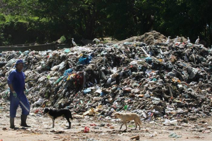 O aterro sanitário da CTR em Jaboatão é uma das cinco unidades privadas no estado. Foto: Julio Jacobina/DP (O aterro sanitário da CTR em Jaboatão é uma das cinco unidades privadas no estado. Foto: Julio Jacobina/DP)