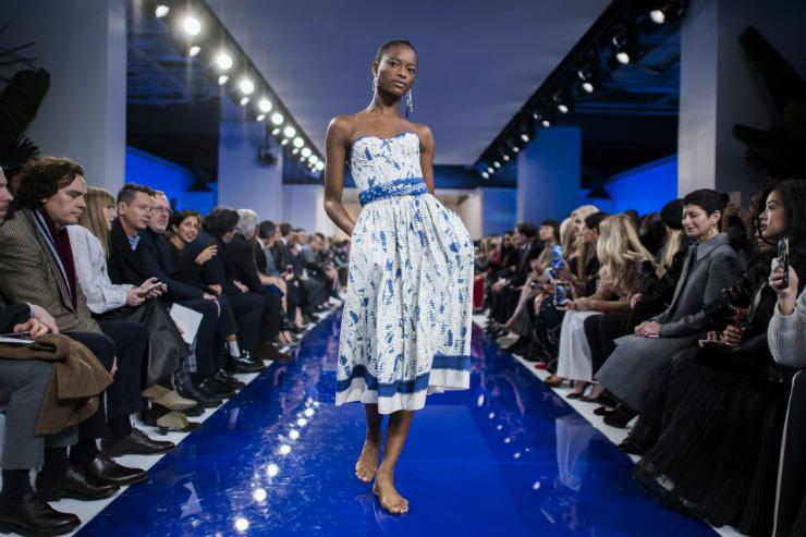 Mais de 130 marcas participaram da Semana de Moda de Nova York. Foto: Jewel Samad/AFP