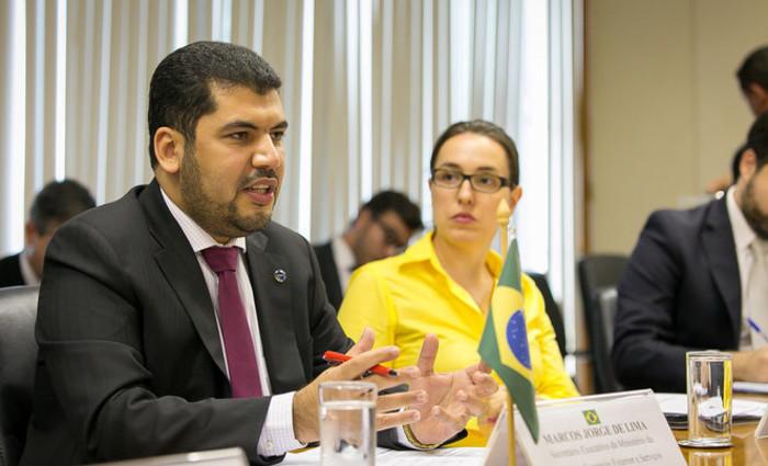 Ministro da Indústria, Comércio Exterior e Serviços, Marcos Jorge. Foto: Reprodução/Flickr