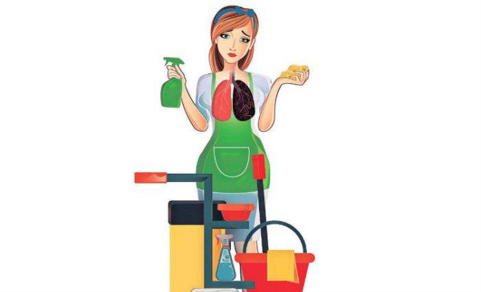 Além do desconforto, os produtos utilizados podem apresentar riscos à saúde.  Foto:  Ilustração/Valdo Virgo/CB (Foto:  Ilustração/Valdo Virgo/CB)