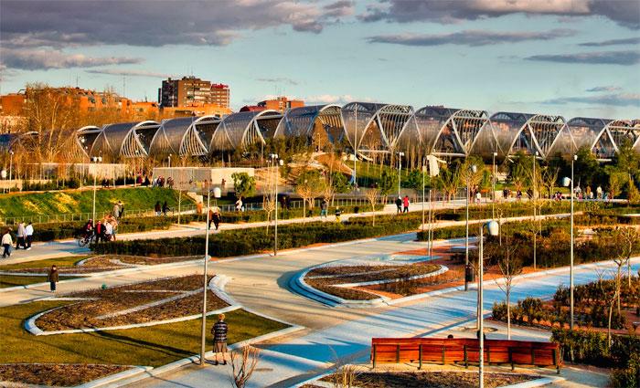 Parque Madrid Rio. Foto: Reprodução