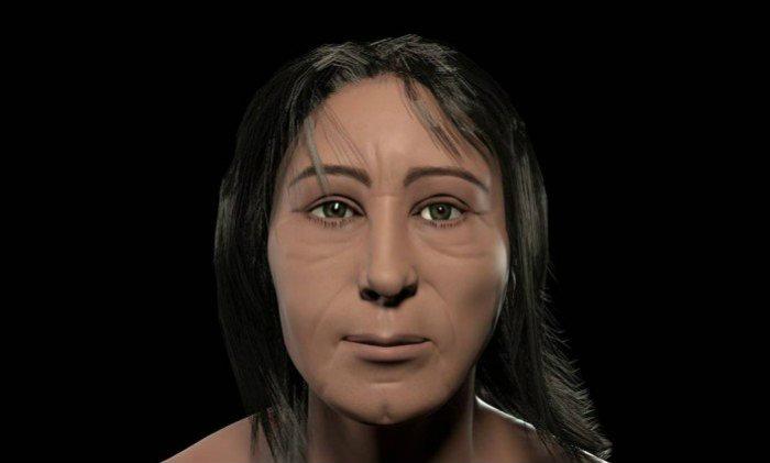 O ancestral dos atuais cariocas era bem baixinho para os padrões atuais. Foto: Divulgalção/Museu Nacional/UFRJ (Foto: Divulgalção/Museu Nacional/UFRJ)