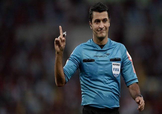 Sandro Meira Ricci foi o escolhi para representar a arbitragem brasileira na competição - Foto: FIFA/Divulgaçãoi