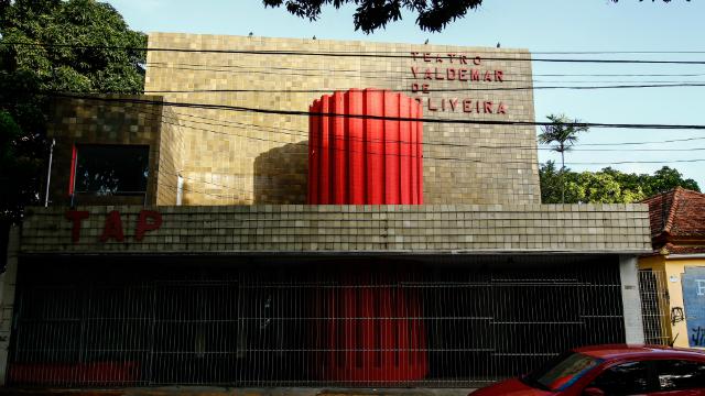 A interdição do teatro aconteceu após uma vistoria do Corpo de Bombeiros. Foto: Shilton Araujo/Esp.DP