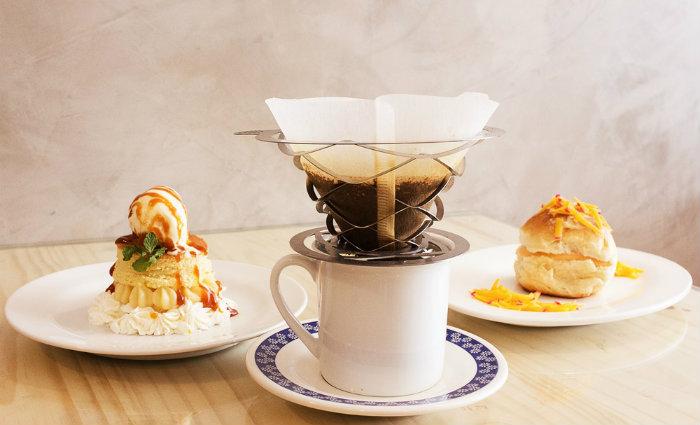 A Sugestão do Barista é composta por bebida de café, salgado e sobremesa. Foto: Divulgação