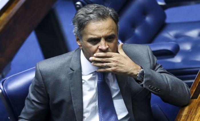 Segundo a denúncia, Aécio solicitou a Joesley Batista, em conversa gravada pela Polícia Federal (PF), R$ 2 milhões em propina. Foto: Agência Brasil
