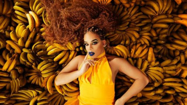 Drag queen é intérprete de Bumbum de Ouro, um dos sucessos do carnaval de 2018. Foto: Gloria Groove/Divulgação