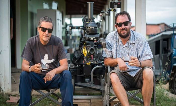 """Os cineastas Kleber Mendonça Filho e Juliano Dornelles, diretores de """"Bacurau"""". Foto: Victor Jucá/Divulgação"""