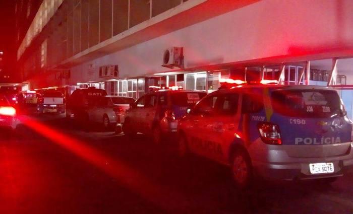 Apenas dois dos quatro policiais conseguiram resistir aos ferimentos do atropelamento de metrô que ocorreu na terça, na Joana Bezerra. Foto: Cortesia