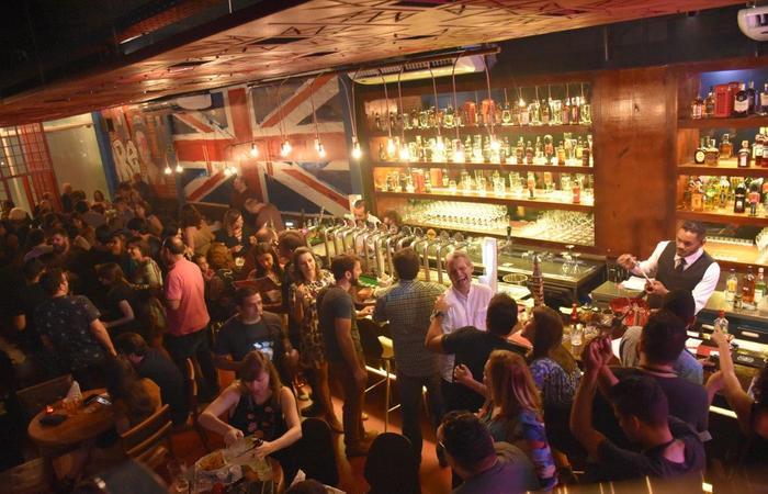 The Queen Pub na Zona Sul do Recife. Foto: André Valença/Divulgação (foto: Divulgação)
