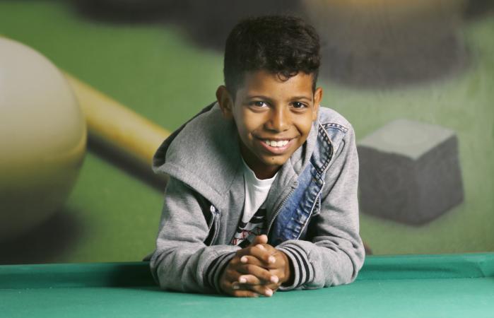 Recifense de 11 anos cresceu no bairro de Alto Santa Teresinha, na Zona Norte. (Foto: Marlon Diego/DP)