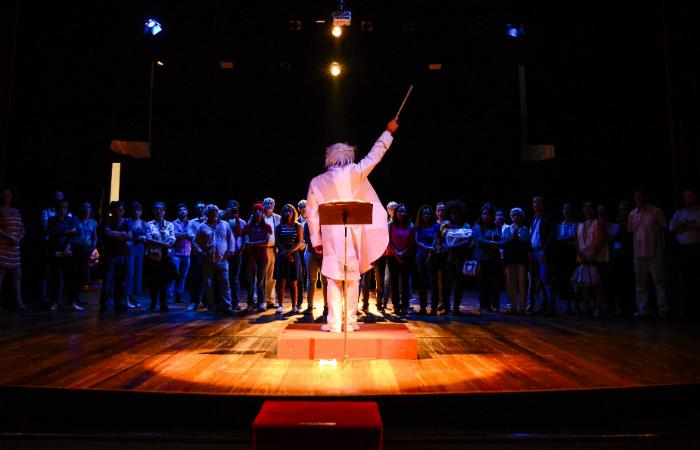 A visita Proscenium! mistura jogo, teatro e história. Foto: Wesley D'Almeida/Divulgação