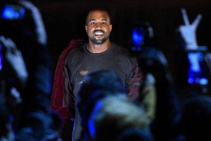 Kanye West lança disco com oito faixas inéditas e consegue feito histórico. (foto: AFP)